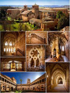Monasterio de Santa María de Huerta, Soria.      Fotografía: Ángel Conrado