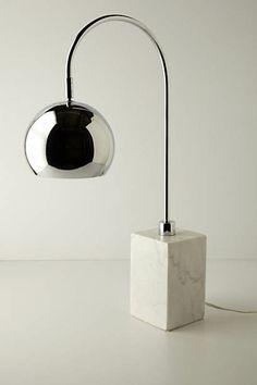 Handmade Carrara Desk Lamp
