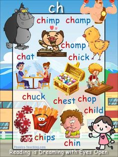 ch Words Poster - FREE & PRINTABLE - Perfect for auditory discrimination, sound studies, letter formation, classroom reference or Word Walls. Phonics Flashcards, Phonics Worksheets, Handwriting Worksheets, Handwriting Practice, Learning Websites For Kids, Kids Learning, Teaching Resources, Preschool Alphabet, Alphabet Crafts