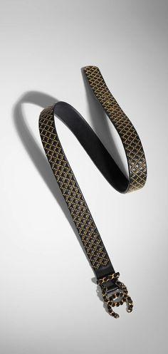 Chanel - Métiers D'Art 2016/2017 Paris Cosmopolite Leather Belt
