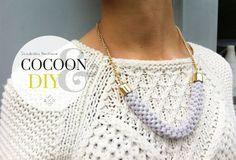 #DIY : collier scoubidou et tricotin