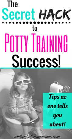 Potty training secrets and tips! Potty training is hard! Let me help you make this experience easier and teach you the secret hack to potty training success! These potty training tips will help you get your toddler potty trained in no time! #pottytraining #pottytime #toddlers #mom #parentingtips #potty #pottytips
