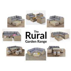The Rural Garden Rattan Furniture Range from 121 Home Furniture - https://www.121homefurniture.co.uk/port-royal-rural-rattan-garden-furniture