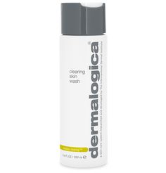 dermalogica clearing skin wash breakout clearing foam  Foaming cleanser helps clear oils and bacteria on breakout-prone skin. Slough off impurities and dead skin cells with Salicylic Acid, a beta hydroxy acid that stimulates natural exfoliation to help clear clogged follicles and prevent future breakout activity
