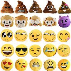 Doux Emoji Peluche Oreiller Coussins Farcies Caca Singe Emoticône Jouet