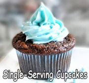 Single serve low calories cupcakes/muffins! Perfect for me since I tend to eat too many if I make a dozen. PS check out this entire food blog- she is amazing!