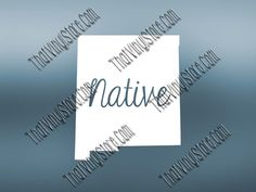 New Mexico Home Decal  New Mexico State Decal  by ThatVinylStore