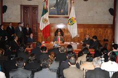 El Gobernador de Veracruz, Javier Duarte de Ochoa, tomó protesta al Presidente del Comité Organizador de los Juegos Centroamericanos y del Caribe 2014, Dionisio Pérez Jácome, el 13 de febrero de 2012, donde habló de las políticas para impulsar al deporte, y la visión de lograr los mejores juegos de la historia en respuesta al respaldo de la ODECABE.