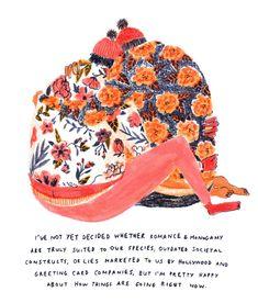 Exotic & Pretty Drawings by Mouni Feddag – Fubiz Media