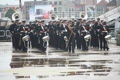 De Marinierskapel op weg naar de Medal Parade #Sail de Ruyter #Marinierskapel #fotografie Jack Eversen