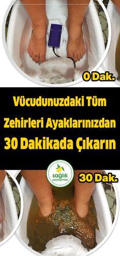 Bu suyu hazırlayın ayaklarınızı 30 dakika batırın vücutta ne var ne yok ayaklarınızdan çıkacak. #sağlık #vücut temizleme #kadın #temiz #temizlik #arınma