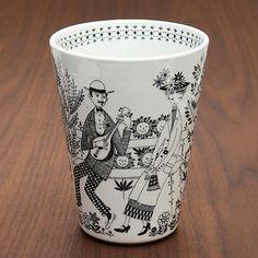 ARABIA/アラビア:エミリア/Emilia ベース Finland, Pottery, Plates, Ceramics, Dishes, Mugs, Tableware, Vintage, Design