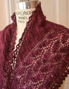 Estonian Dream Shawl pattern by Judy Marples Shawl Patterns, Afghan Crochet Patterns, Knitting Patterns, Knitting Ideas, Crochet Jacket, Knit Crochet, Types Of Yarn, Knitted Shawls, Lace Knitting