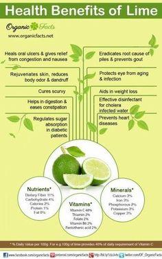 #Health benefits of #lime ORGANIC World - Community - Google+ #detoxwaterhealthbenefits