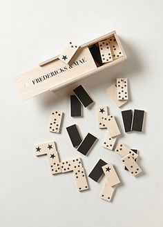 Classic Dominoes Set  by Fredericks & Mae