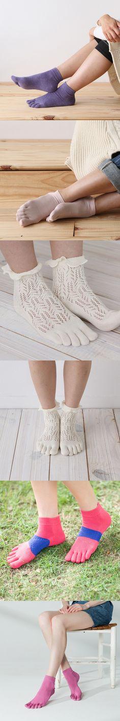 여자용 발가락 양말 예쁘죠? ㅋ