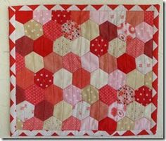 Beaquilter cut her Hunter Star scraps with the GO! Half Hexagon - Multiple Sizes die!  Get that hexagon look with no Y-seams by using a half hexagon die from #accuquilt