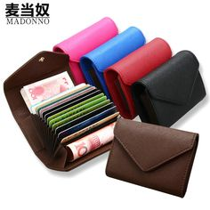 f4e0506e6f3 2017 New Genuine Leather Women Men ID Card Holder Card Wallet Purse Credit Card  Business Card