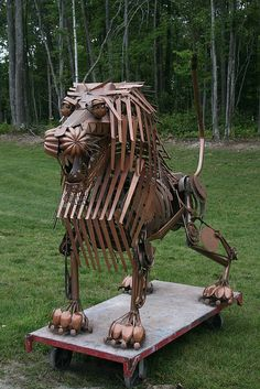 'Lion' - ArtPrize Submission at The Women's City Club in Grand Rapids, Michigan, 2009 - by noskill21, via Flickr