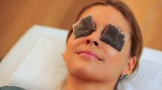 Eliminate Tired Puffy Eyes With Chilled Tea Bags Briefly steep 2 green, black or chamomile tea bags in hot water for less than a minute. Then remove the tea bags from the water, and chill in a small bowl in the refrigerator. Once chilled, place 1 bag over each closed eyelid. Leave on your lids for 5 to 15 minutes. https://www.facebook.com/Easyacneremedy/?fref=ts