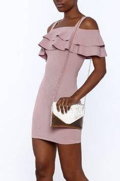 Shoptiques Product: Ruffle Bodycon Dress