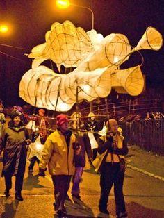 Lantern procession