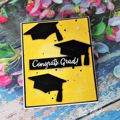 Graduation Cards Handmade, Graduation Diy, Greeting Cards Handmade, Happy Birthday Images, Happy Birthday Greetings, Birthday Wishes, Vintage Birthday Cards, Card Sketches, Scrapbook Sketches
