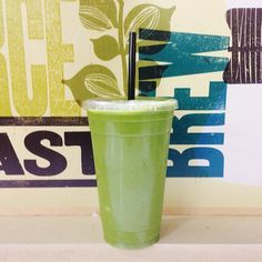 Copycat {whole foods} Tropical Green Smoothie Serves 1  1/2 – 1 cup coconut water (I used O.N.E.brand) 1 frozen banana 1/2 cup pineapple 1/2 cup mango huge handful of spinach  Start with 1/2 cup of coconut water and add more if needed or desired. Blend until creamy and smooth.