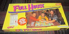 VINTAGE FULL HOUSE TV SHOW FAMILY BOARD GAME 1993 BY TIGER, AGES 5 & UP, NC,GUC #TIGER