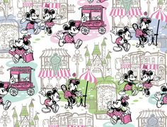 In May, Disney will celebrate five years of Dooney & Bourke handbags and accessories at Disney Parks. They are planning a small celebration and will be releasing several new designs this year. I love this new artwork with Mickey and Minnie Mouse!