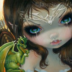 Faces of Faery #221 | Art by Jasmine Becket-Griffith