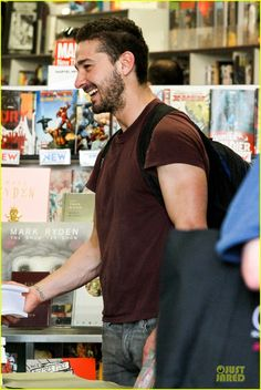 Shia LaBeouf: 'Stale N Mate' Book Signing!: Photo 2863610 | Shia ...