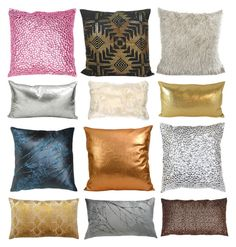 """""""Pillow Talk"""" by kathykuohome ❤ liked on Polyvore featuring interior, interiors, interior design, home, home decor, interior decorating, JEM, Home, pillow and homeset"""