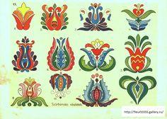 Hungarian Folk Art Matyo Kalocsai Etc Tattoo Design Hungarian Embroidery, Folk Embroidery, Learn Embroidery, Embroidery Patterns, Flower Embroidery, Folklore, Bordado Popular, Scandinavian Folk Art, Pintura Country