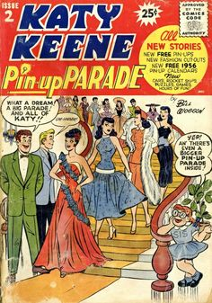 Katy Keene Pin-Up Parade #2 - Art and cover by Bill Woggon