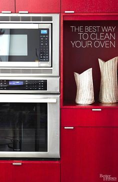 How to Clean an Oven Learn how to clean your oven and get 3 clever tips to help you keep it that way (and yes, you can cook in it!).