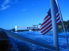 Pearl Harbor--We were there on the 60th anniversary right after 9-11