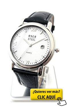 Reloj de hombre Osco clásica plana Anzuguhr... #reloj #hombre