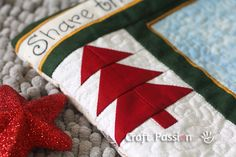 Christmas quilt blocks | Quilting | Tree Quilt Block Pattern | Free Pattern & Tutorial at ...