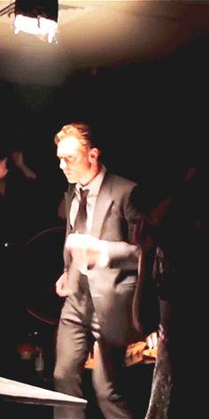 Tom Hiddleston dancing. TBT of High-Rise (https://www.youtube.com/watch?v=s4w3kuC8L8w)