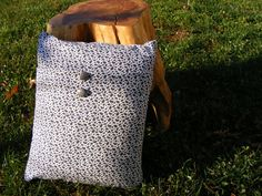 small decorative pillow in animal print by HASinspiration on Etsy, $15.00