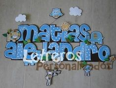 1 Nombre Banners O Letrero En Foami Baby Shower, Nacimiento