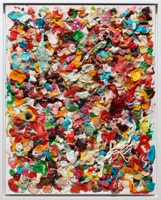 Dan Colen's bubble gum canvasses prove art is what you make of it!  Have you made some art today?