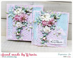 Hand made by Wisnia: 811. W pastelach / In pastels