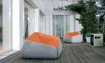 Original design armchair / fabric