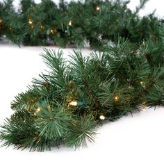 Have to have it. Classic Pine 9 ft. Pre-lit Garland $39.98