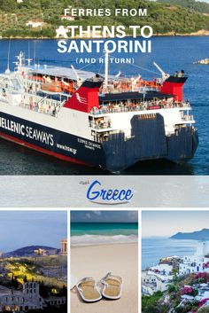 For the majority of budget travelers, the ferries are the best way to travel between Athens and any island, at an affordable price (economy class ticket). If you have enough time on your hands and low the company of other fellow travelers, a ferry is the best way to get from Athens to Santorini .
