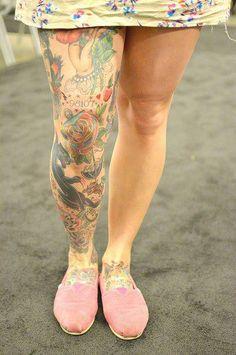 Tattoo #legs