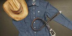 Wow! Cette chemise Cinch pour femme est superbe, vous ne trouvez pas? Westerns, Western Wear, Dress Shirt, Woman