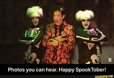 Photos you can hear. Happy SpookTober! - Photos you can hear. Happy SpookTober! – popular memes on the site iFunny.co #saturdaynightlive #tvshows #spooky #spooktober #october #halloween #edgy #dank #davidspumpkims #skeletons #snl #scary #photos #can #hear #happy #meme